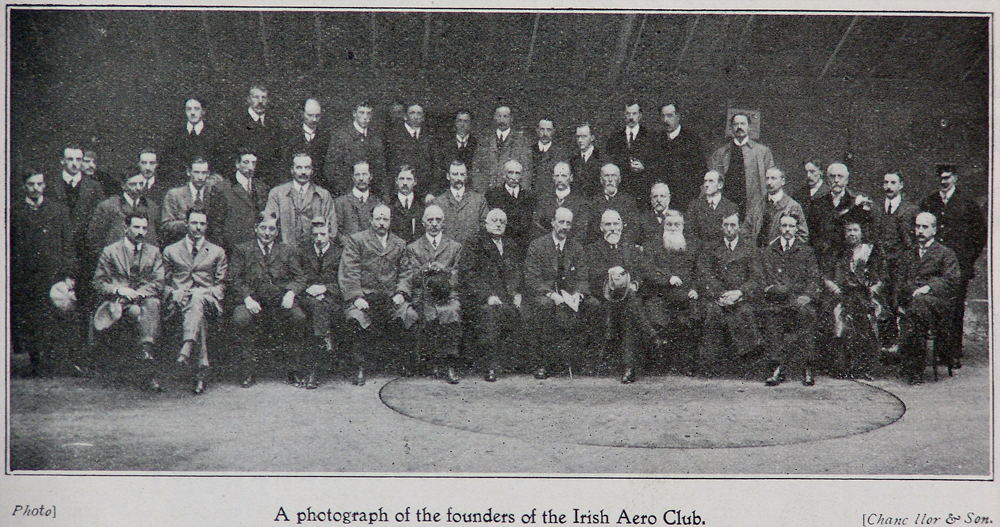 Founder Members - Irish Aero Club 5Nov1909